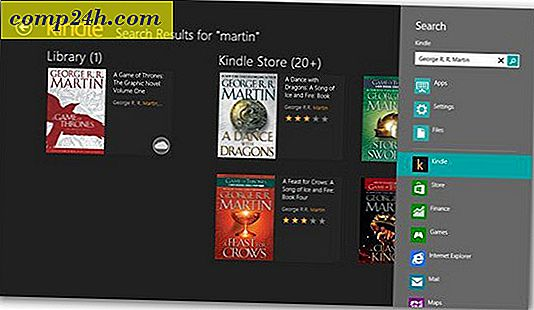 Amazon släpper Kindle App för Windows 8