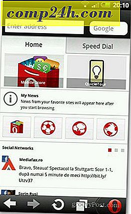 Opera Mini til Android Gets Social