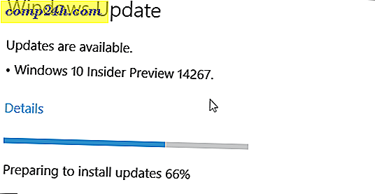Windows 10 Redstone Preview Build 14267 Släppt till Insiders (Uppdaterad)