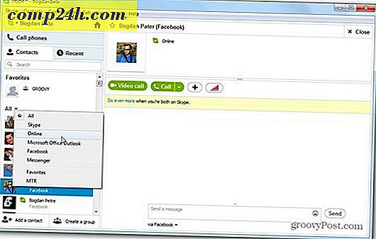 Skype 6 Bringer Facebook, Windows Live Integration