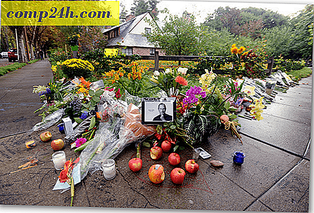 Steve Jobs Memorial: Apple Service On Track för 19 oktober