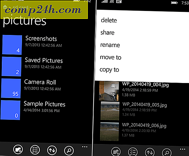 Windows Phone 8.1 File Manager tillgängligt nu