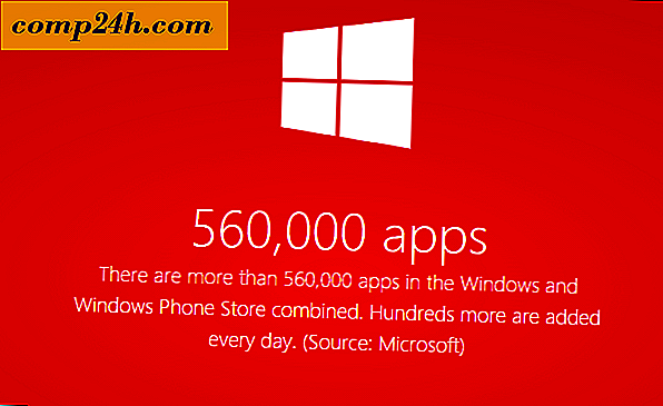 Microsoft annoncerer over en halv million apps til Windows 8 og Windows Phone