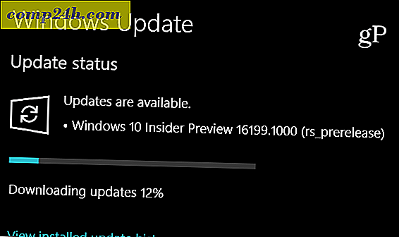 Microsoft Ships Windows 10 Insider Preview Build 16199, indeholder nye funktioner