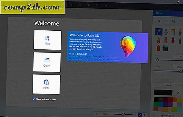 Ga aan de slag met Paint 3D en Remix 3D in Windows 10 Creators Update