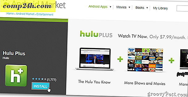 Hulu Plus för Android: First Look