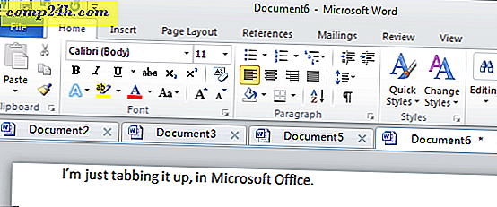 Bring Browser-Style Tabs til Microsoft Office med Office Tabs Plugin