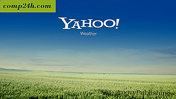 Yahoo!  Wetter Android App Tour