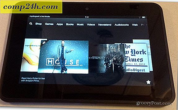 Amazon Kindle Fire HD 7 InchTablet felülvizsgálata