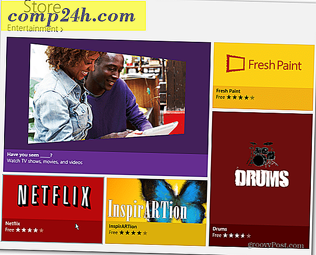 Netflix lancerer officiel Windows 8 App
