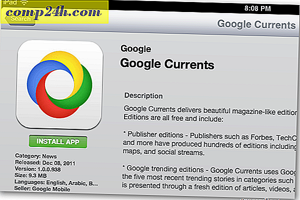 Google Currents för Apple iOS - Skapa ett digitalt Nyheter Magazine