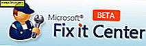 Microsoft Fixit Center Beta lost algemene Windows-problemen op