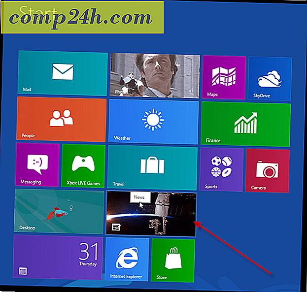 Windows 8 Metro Apps Feature: Nyheter