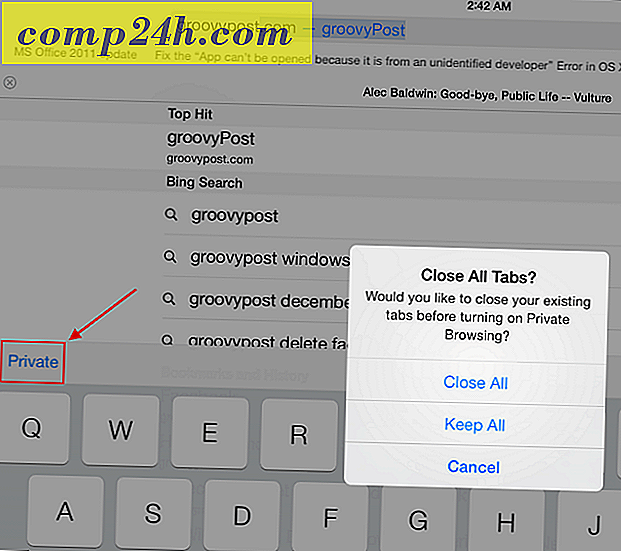 iOS 7 Tip: Brug Safari's Private Browsing