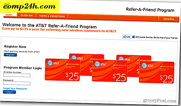 Tjäna pengar med AT & T Refer-A-Friend-programmet